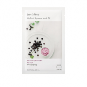 Mặt Nạ Innisfree My Real Squeeze Mask EX Acai Berry 20ml