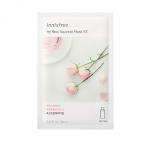 Mặt Nạ Innisfree My Real Squeeze Mask EX Rose 20ml