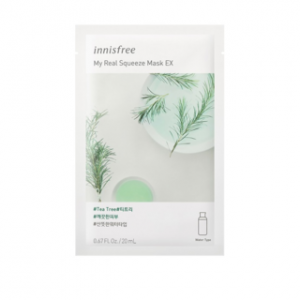 Mặt Nạ Innisfree My Real Squeeze Mask EX Tea Tree 20ml